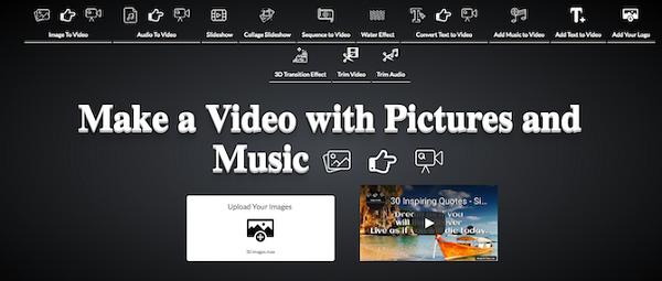 با استفاده از ImageToVideo عکسهای خود را بهصورت آنلاین به فیلم تبدیل کنیم 1