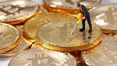 Bitcoin-Cryptocurrency-Digital-Money