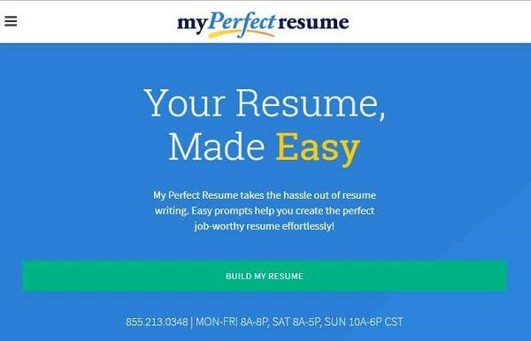 این وبسایتهای فوقالعاده بهصورت آنلاین رزومههای حرفهای بسازید 7