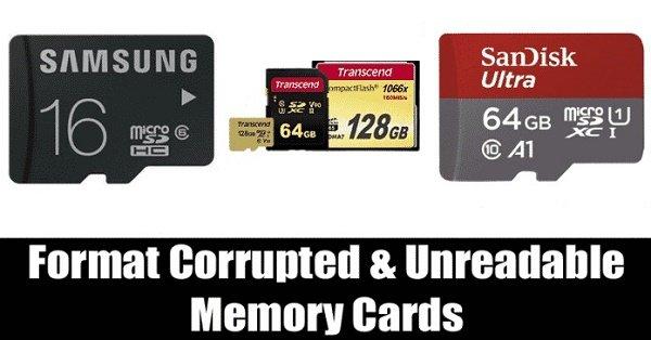 در ویندوز 10 کارت حافظه معیوب و غیرقابل خواندن را فرمت کنیم 2