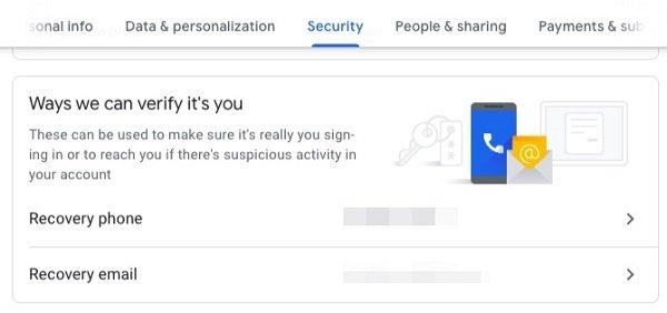 این چهار تنظیم ضروری امنیت گوگل اکانت خود را بالا ببرید (بخش اول) 2