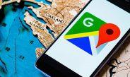 Google Map میزان شیوع کرونا در هر منطقه را نشان میدهد