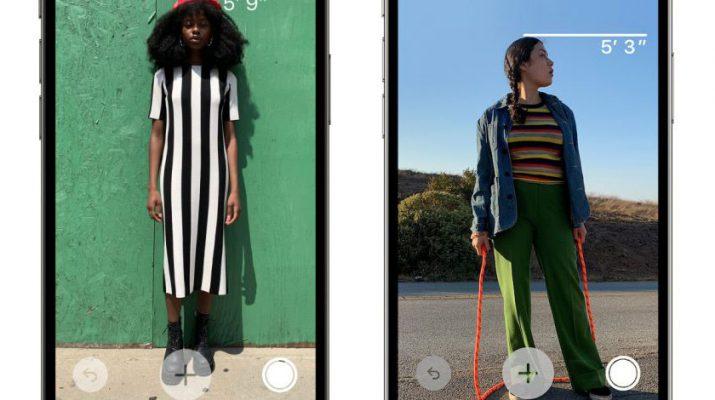 امکان نمایش قد افراد در دوربین های آیفون ۱۲ پرو و پرو مکس