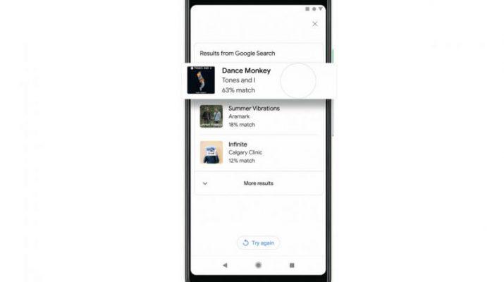 جستجوي آهنگ در گوگل از طريق زمزمه