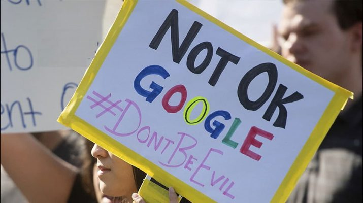 گوگل متهم به نقض حقوق کارکنانش شد
