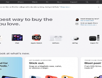 فروشگاه اینترنتی اپل با طراحی و بخشهای جدید بهروز شد