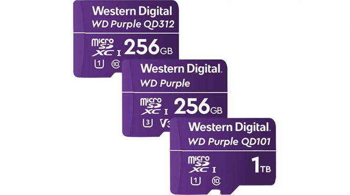 وسترن دیجیتال کارت حافظه یک ترابایتی میکرو SD معرفی کرد