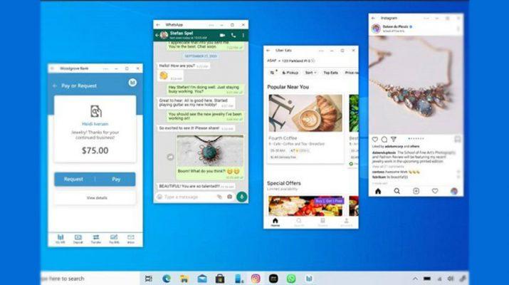 اجرای همزمان برنامههای گوشی روی ویندوز ۱۰ تسهیل شد