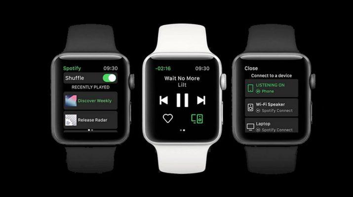 نسخه جدید اسپاتیفای در اپل واچ پخش موسیقی را بدون آیفون فراهم میکند