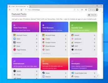 چگونه با ویندوز پکیج منیجر روی سیستم خود برنامه نصب کنیم